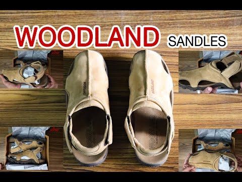 Woodland Sandals Unboxing And Review