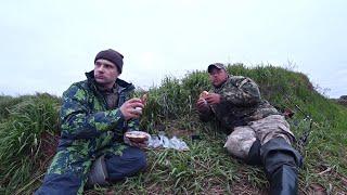 На рыбалку с Андреем Новиковым Ночевка на берегу реки Донки фидер