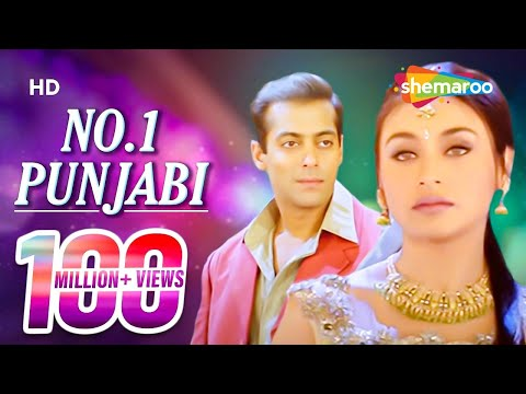No. 1 Punjabi | Chori Chori Chupke Chupke (2001) Song | Salman Khan | Rani Mukherjee | Party Song