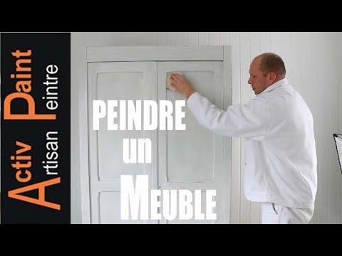 N 39 Tuto Peindre Un Meuble En Bois Cire Sans Decaper Technique De Relooking Et De Decoration Youtube