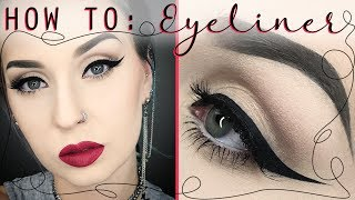 Comment faire son eyeliner ?