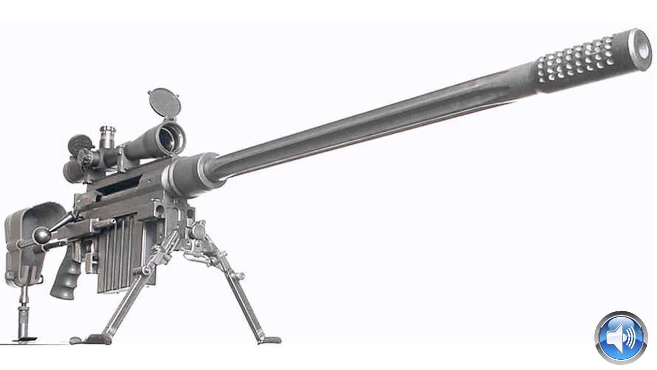 50 Caliber Sniper Rifle Sound Effects !I! Sniper RIfle ...  50 Caliber Snip...