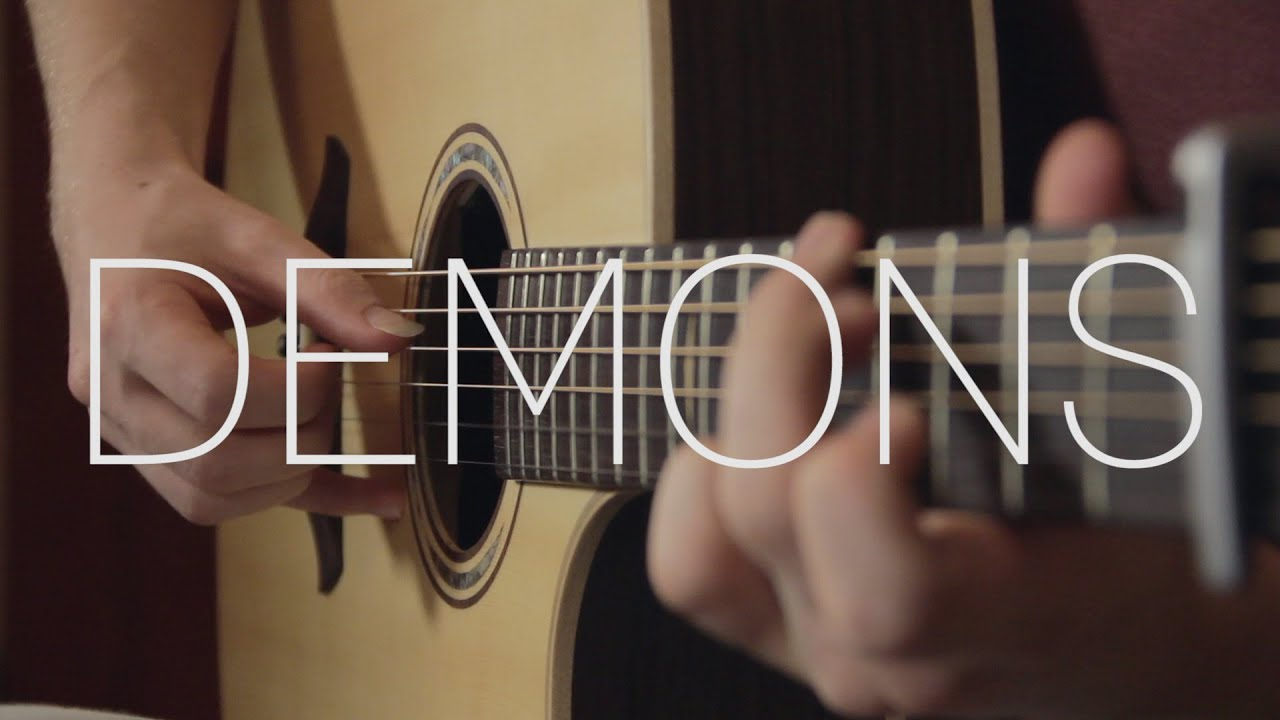 Imagine Dragons Demons Fingerstyle Guitar Cover By James