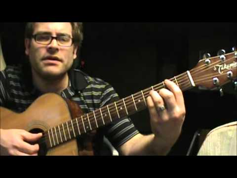 How to play Too Close by Alex Clare on acoustic guitar (2 different ways)
