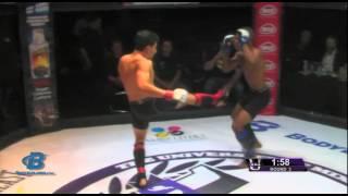 Julio Santa Cruz vs Milton Arguello (The University of MMA, Fight Night 8, 8/24/14)