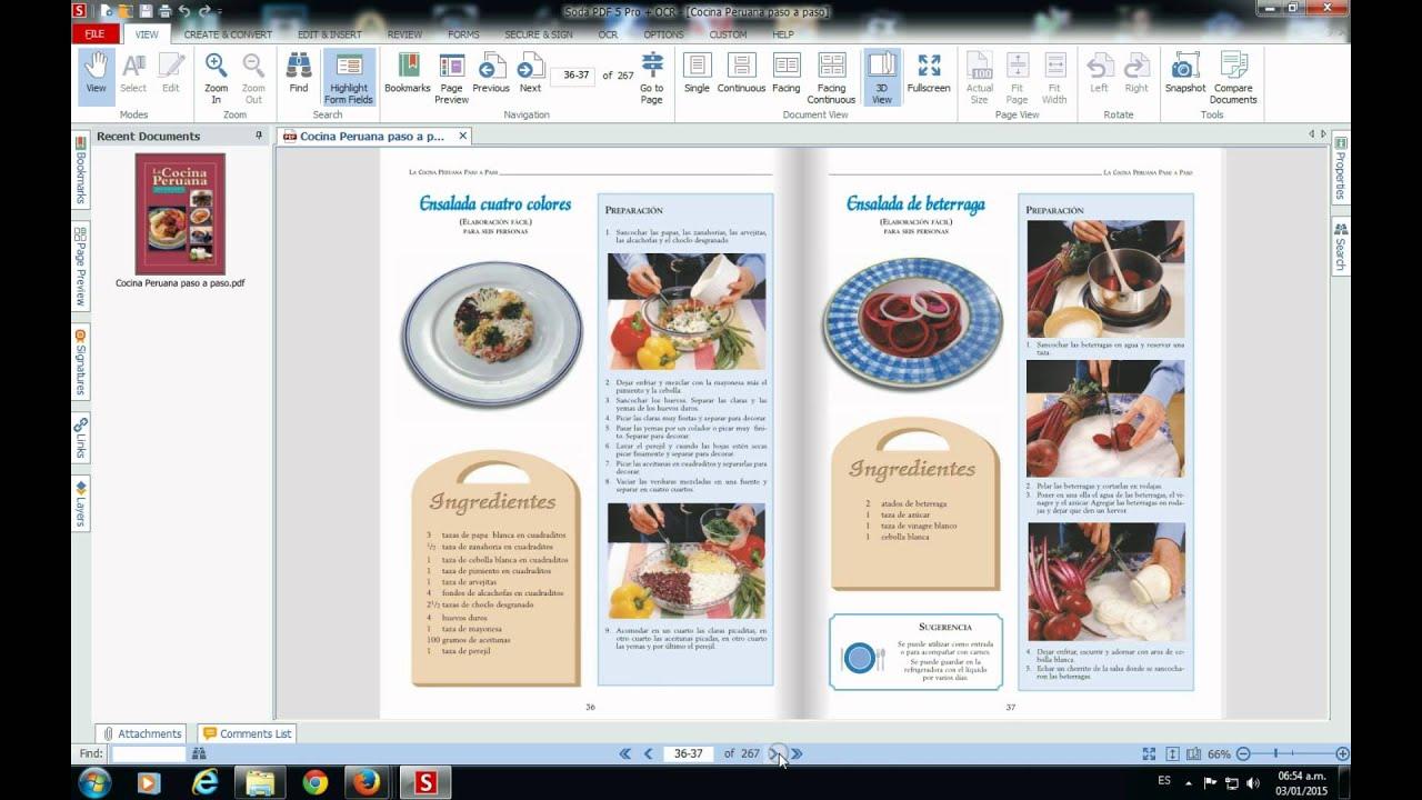Libro de cocina peruana youtube - Libro cocina peruana pdf ...