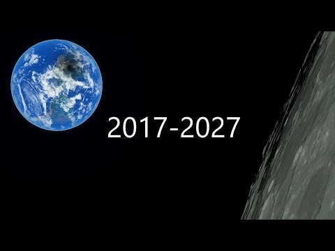 Solar Eclipse Calendar 2017-2027 SpaceEngine