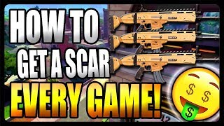 How To Get A Scar Every Game! (Fortnite Battle Royale)
