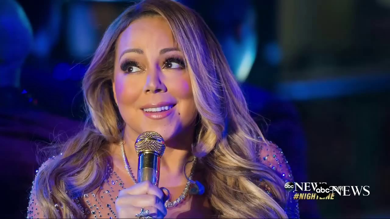 Mariah Carey New Years Performance |  Reps: 'Ear Piece Was Not Working' New Year's Eve