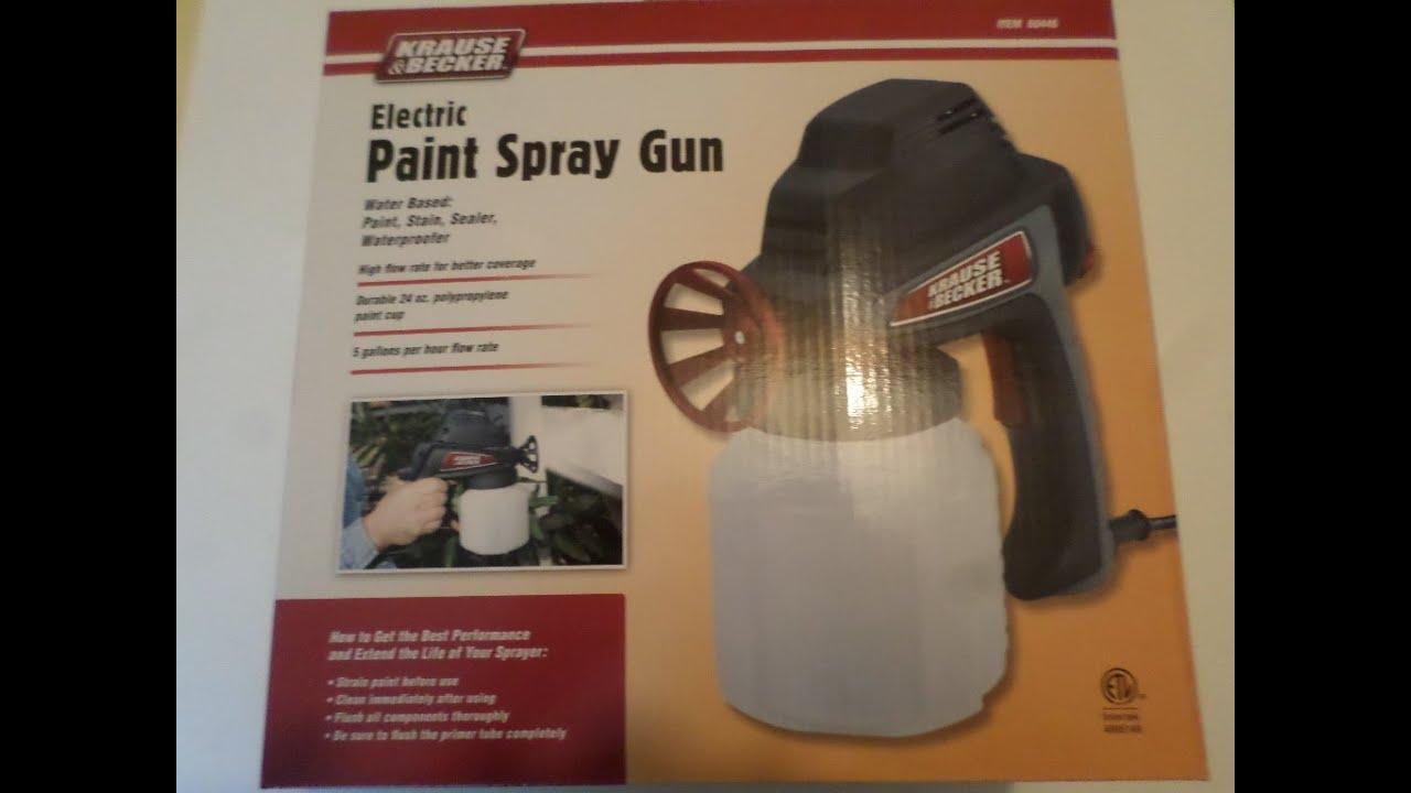 5 1 Gph Electric Paint Spray Gun