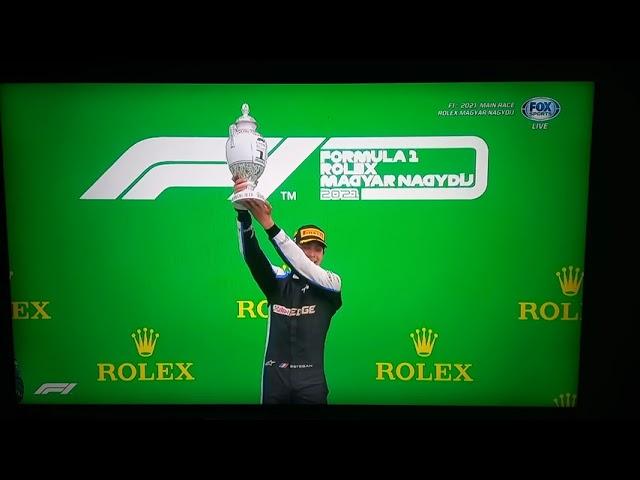 GP F1 Hongrie: Ocon gagne mais Hamilton  réalise l'exploit de passer de la 14e place à la 2e !