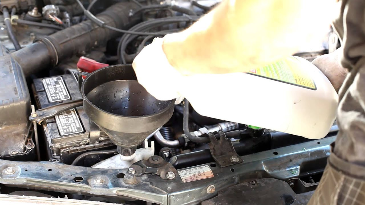 1997 Honda Accord Ex Engine Cooling Diagram Wiring Libraries 1994 Coolant Drain And Refill Youtube1997