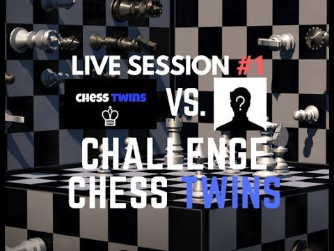 Subscriber Challenge (GONE WRONG lost 91 rating)-Chess Twins Livestream #1