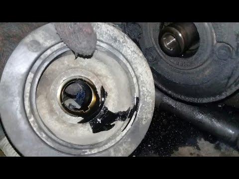 Isuzu 4JA1 Crank Pulley Replacement