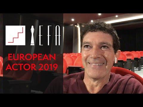 Antonio Banderas - European Actor 2019
