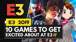 10 Games To Get Excited About At E3 2019