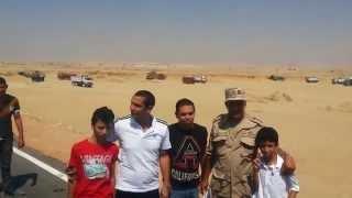 كريم شحاتة وصورة تذكارية مع العميد حسن العفيفي أغسطس 2014