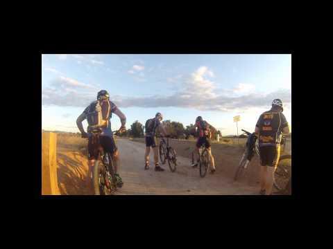 Trayecto por la vía verde (Cartagena-Caravaca) primeros 25km.