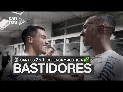 SANTOS 2 X 1 DEFENSA Y JUSTICIA | BASTIDORES | CONMEBOL LIBERTADORES (20/10/20)