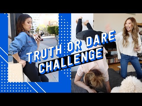 Truth or Dare Challenge ft. Weylie + Sophia Chang