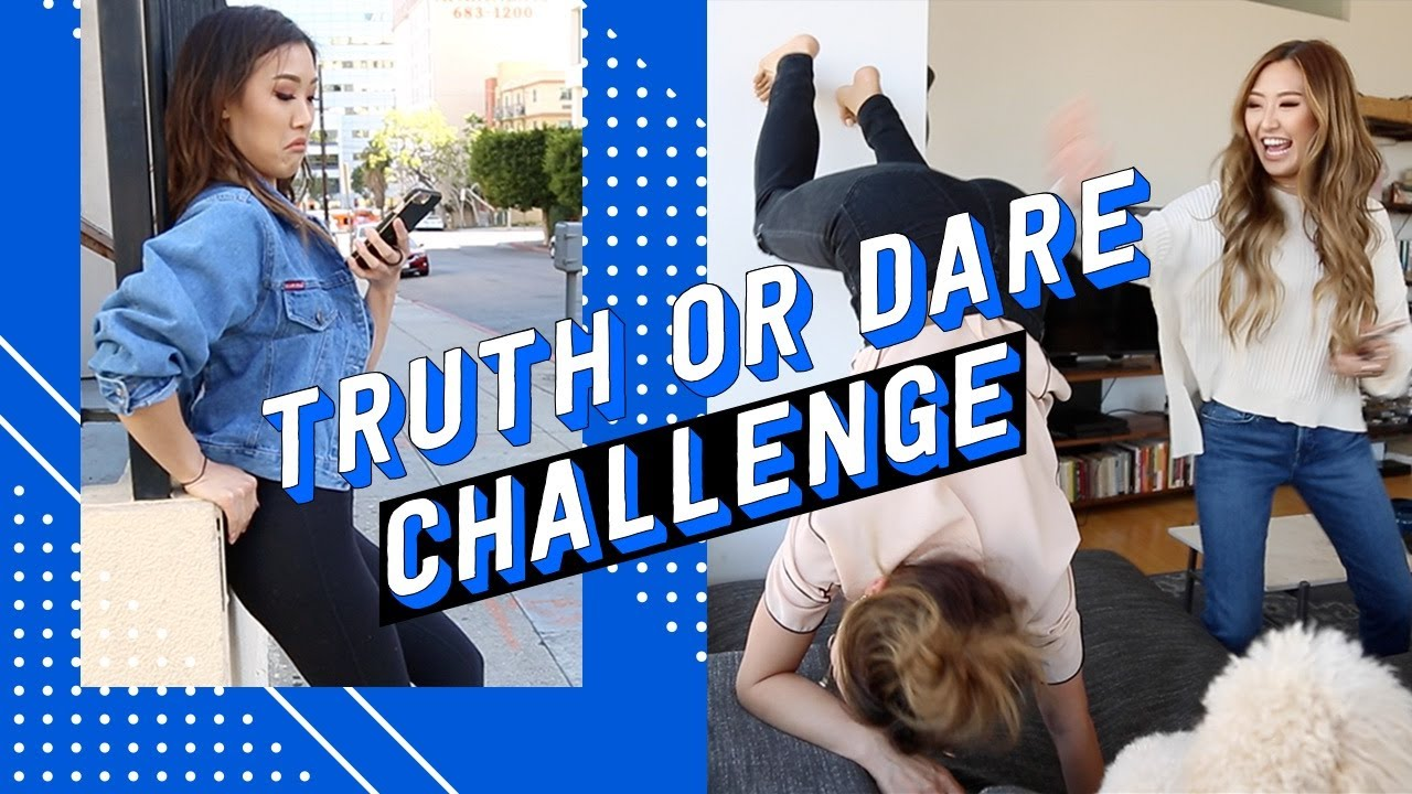 Truth or Dare Challenge ft  Weylie + Sophia Chang