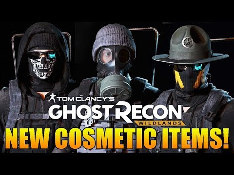 Ghost Recon Wildlands - NEW GHOST WAR COSMETIC ITEM PACKS, NEW OPERATOR, & GHOST WAR PASS!