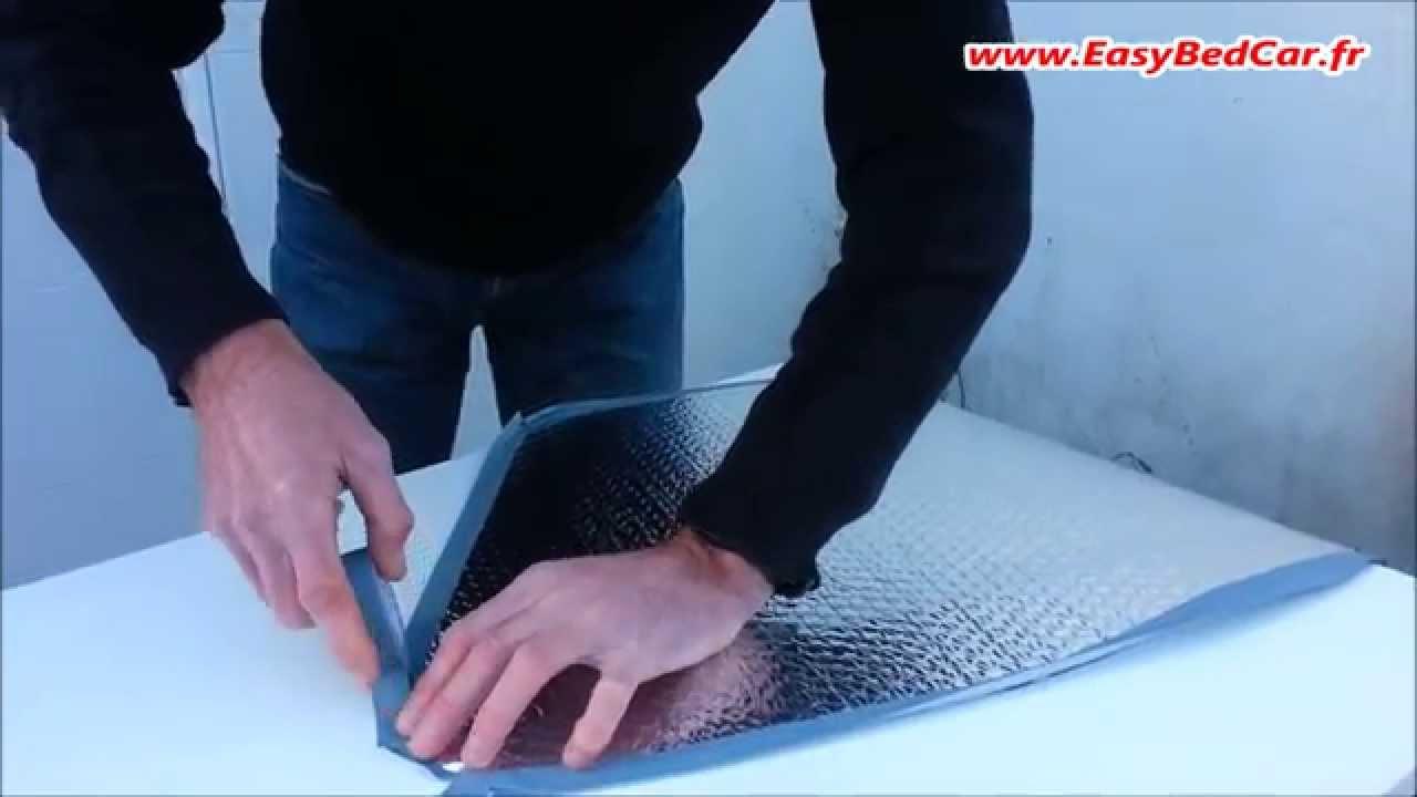 le kit de realisation des rideaux isolants pour vehicules
