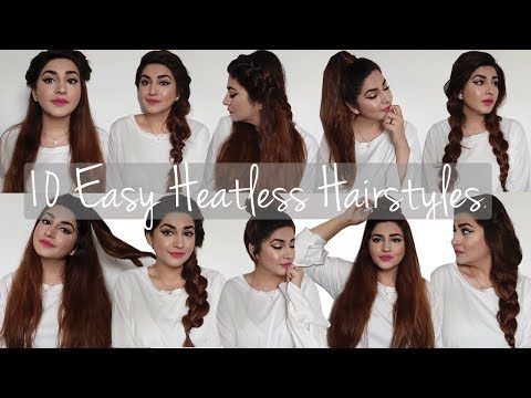 10 Quick & Heartless Everyday Hairstyles for Long Hair