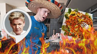 CRAZIEST SALAD EVER! *Gordon Ramsay has left the chat*