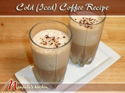 Download Cold Coffee (Iced Coffee) Drink Recipe by Manjula Images