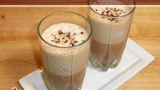 Cold Coffee (Iced Coffee) Drink Recipe by Manjula