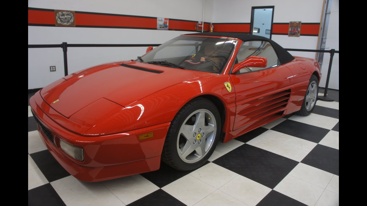 SOLD~~1994 Ferrari 348 Spider For Sale~ONLY 2700 Miles~Like nd ...