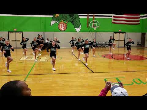 Orchard Farm Middle School cheer 11/16/2018