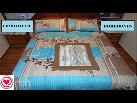 Costura como hacer edredones o cobertores de cama en - Como hacer edredones ...