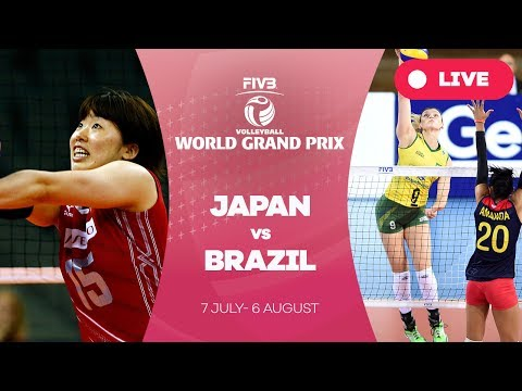 Japan v Brazil - Group 1: 2017 FIVB Volleyball World Grand Prix