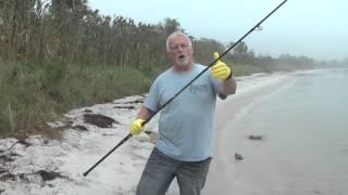 surf fishing rod care stuck ferrules taking apart 2 piece rod