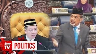 Pasir Salak MP gets ejected from Dewan Rakyat