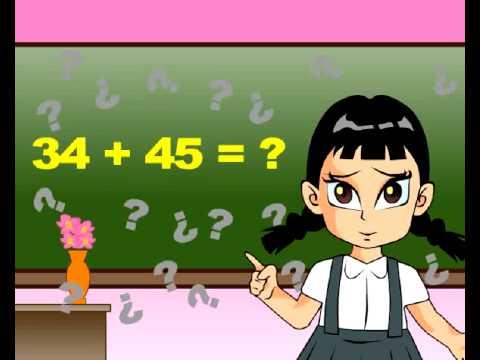 การบวกเลขสองหลักกับเลขสองหลัก