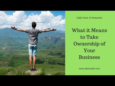 What it Means to Take Ownership of Your Business
