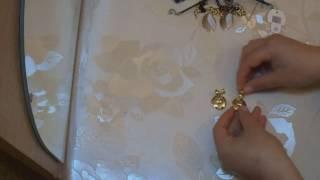 Обзор на бижутерию из магазина серьги,браслеты,колье