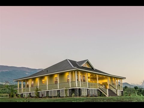 Spectacular Bicoastal Plantation Home in Kula Hawaii  YouTube