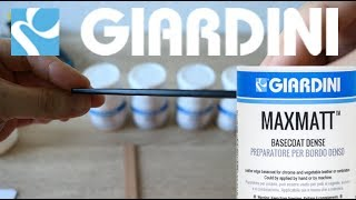 GIARDINI MAXMATT edge paint review