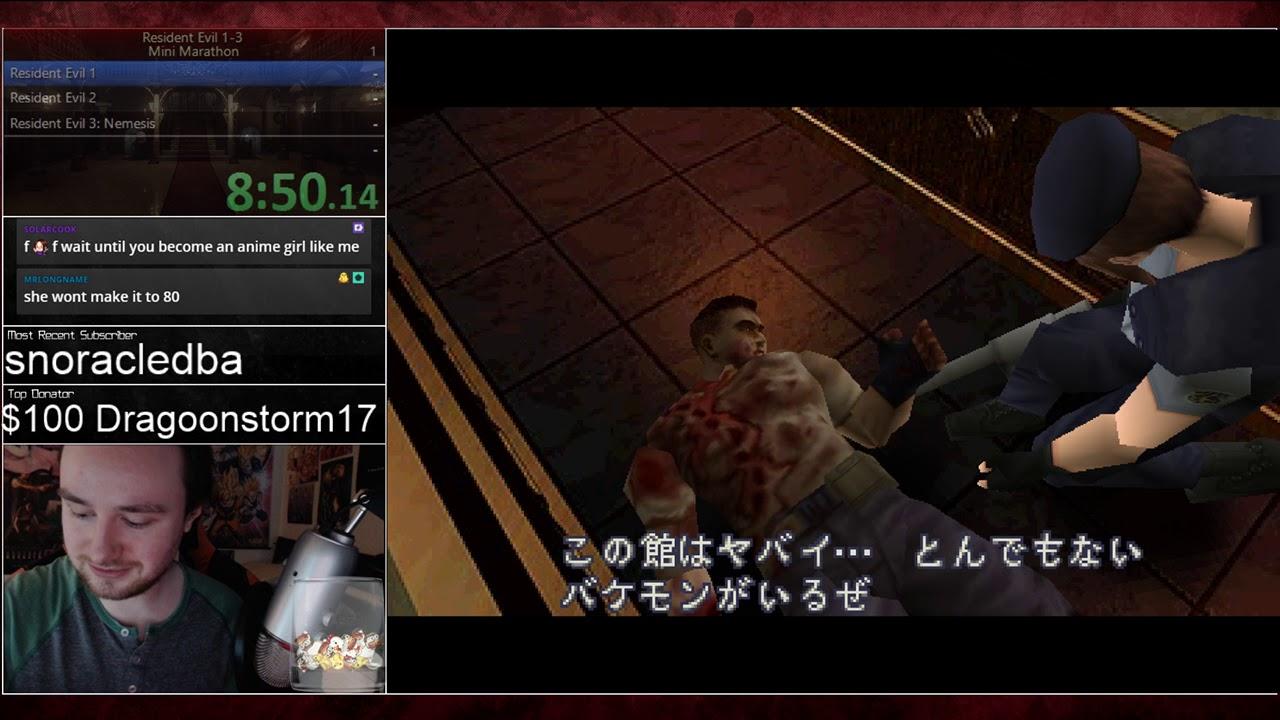 Resident Evil 1-3 in 2 Hours by Bawkbasoup