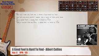 Watch Albert Collins Good Fool Is Hard To Find video