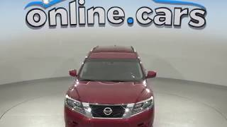 G99509NC Used 2016 Nissan Pathfinder S FWD 4D Sport Utility Red Test Drive, Review, For Sale