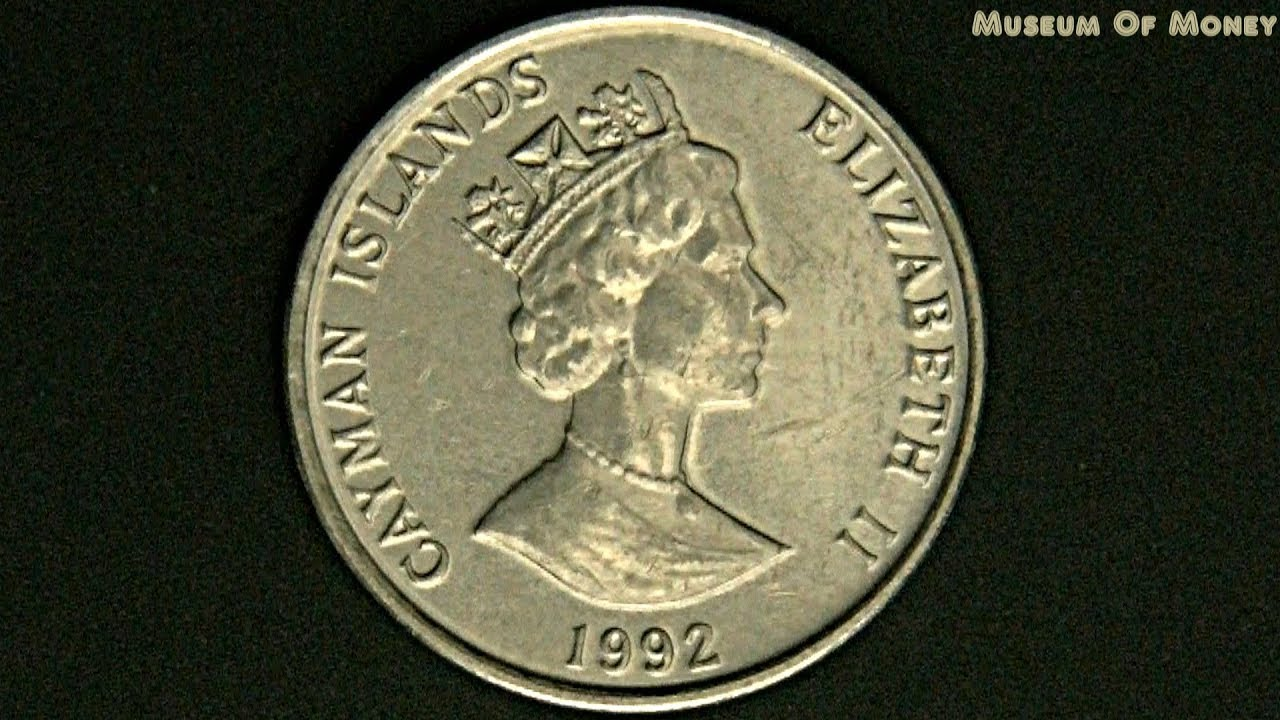 Cayman Islands 5 Cents 1992