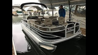 2018 Sun Tracker Fishin' Barge 20 DLX on the Water Review