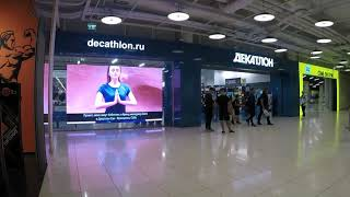 "Видеоэкран для сети магазинов ""Decathlon"", г. Москва, ТЦ ""Авиапарк"", Р2.5"