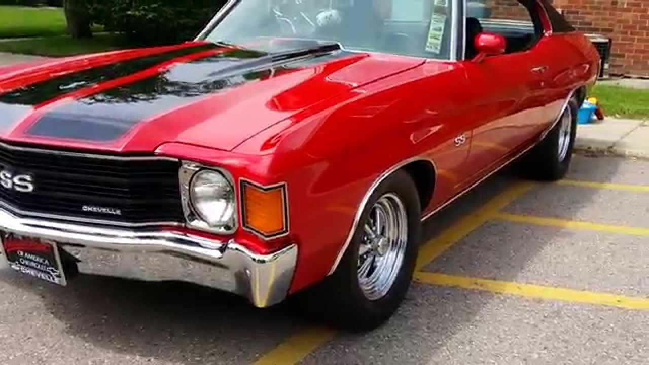 1972 Chevy Chevelle Ss Auto Appraisal Lapeer Davison