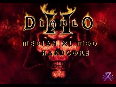 Diablo 2 Hardcore #1 : Median XL Mod